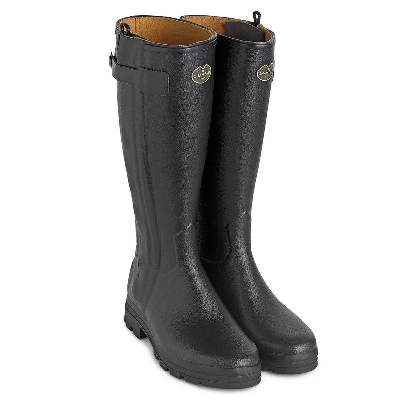 The Imperfect Women's Chasseur Leather Lined Black Boot