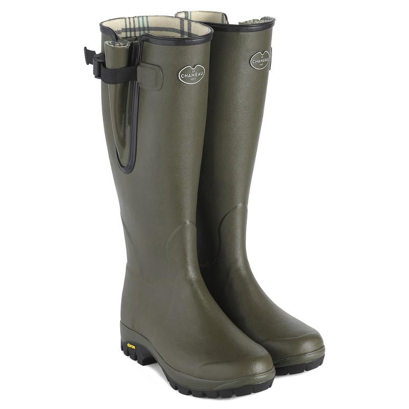 The Imperfect Unisex Vierzon Vibram Jersey Lined Boot