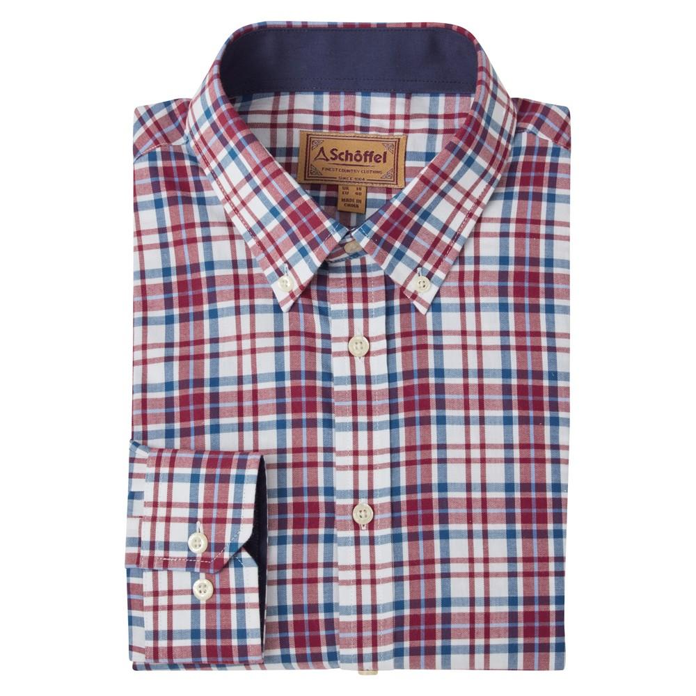 Healey Tailored Shirt Bordeaux