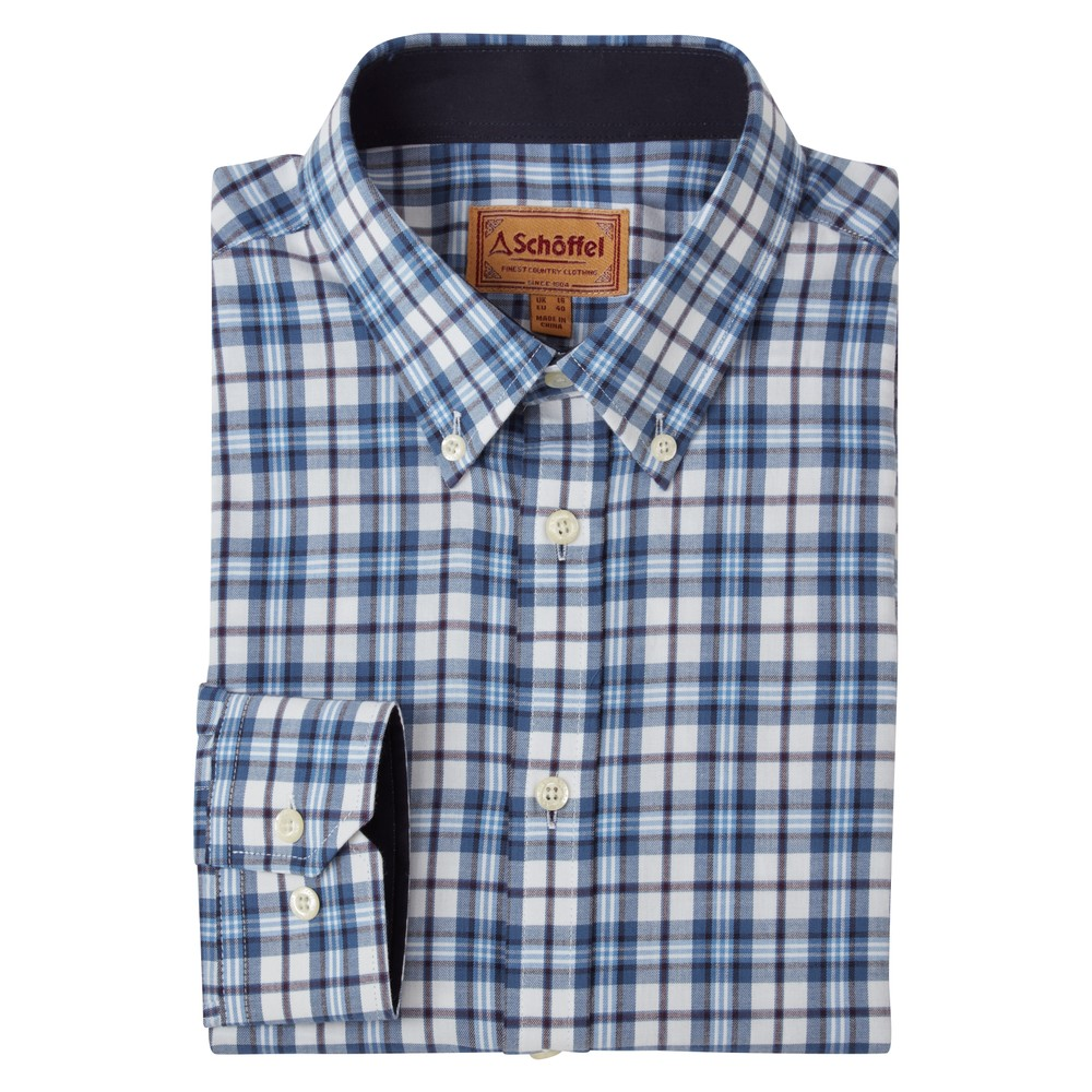 Healey Tailored Shirt Sea Blue