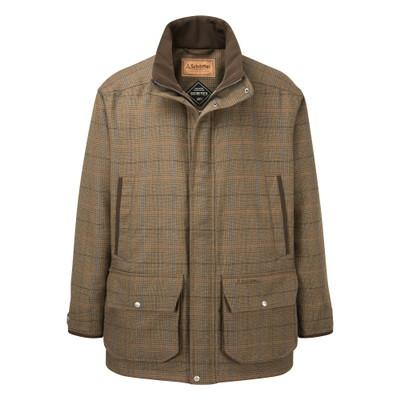 Ptarmigan Tweed Classic Coat Arran Tweed