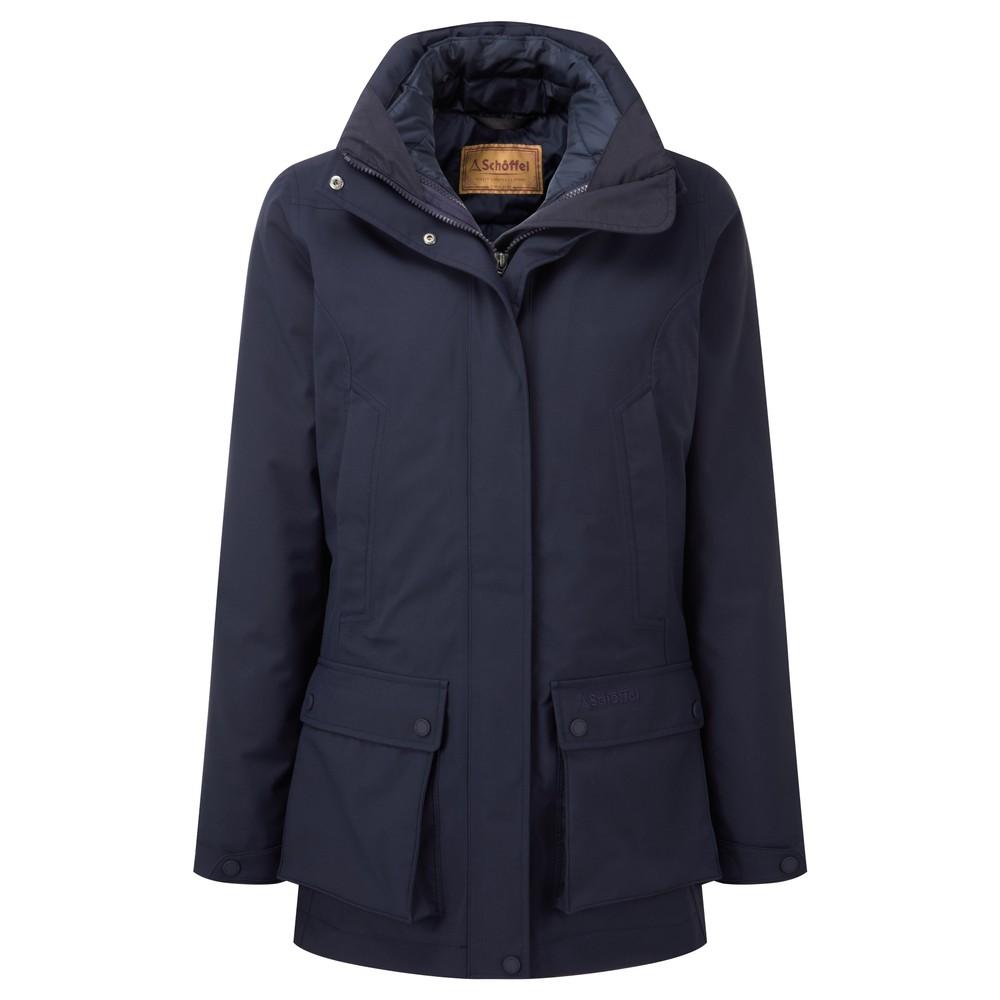 Uppingham 3 in 1 Coat True Navy
