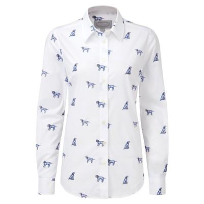 Norfolk Shirt Spaniel Print