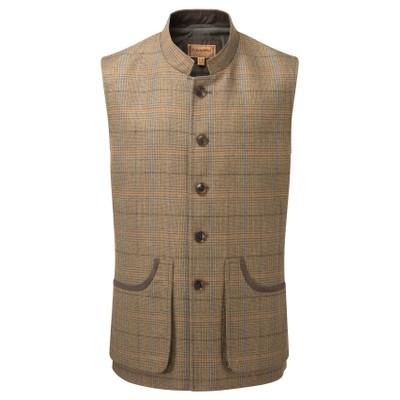 Holcot Tweed Waistcoat Arran Tweed
