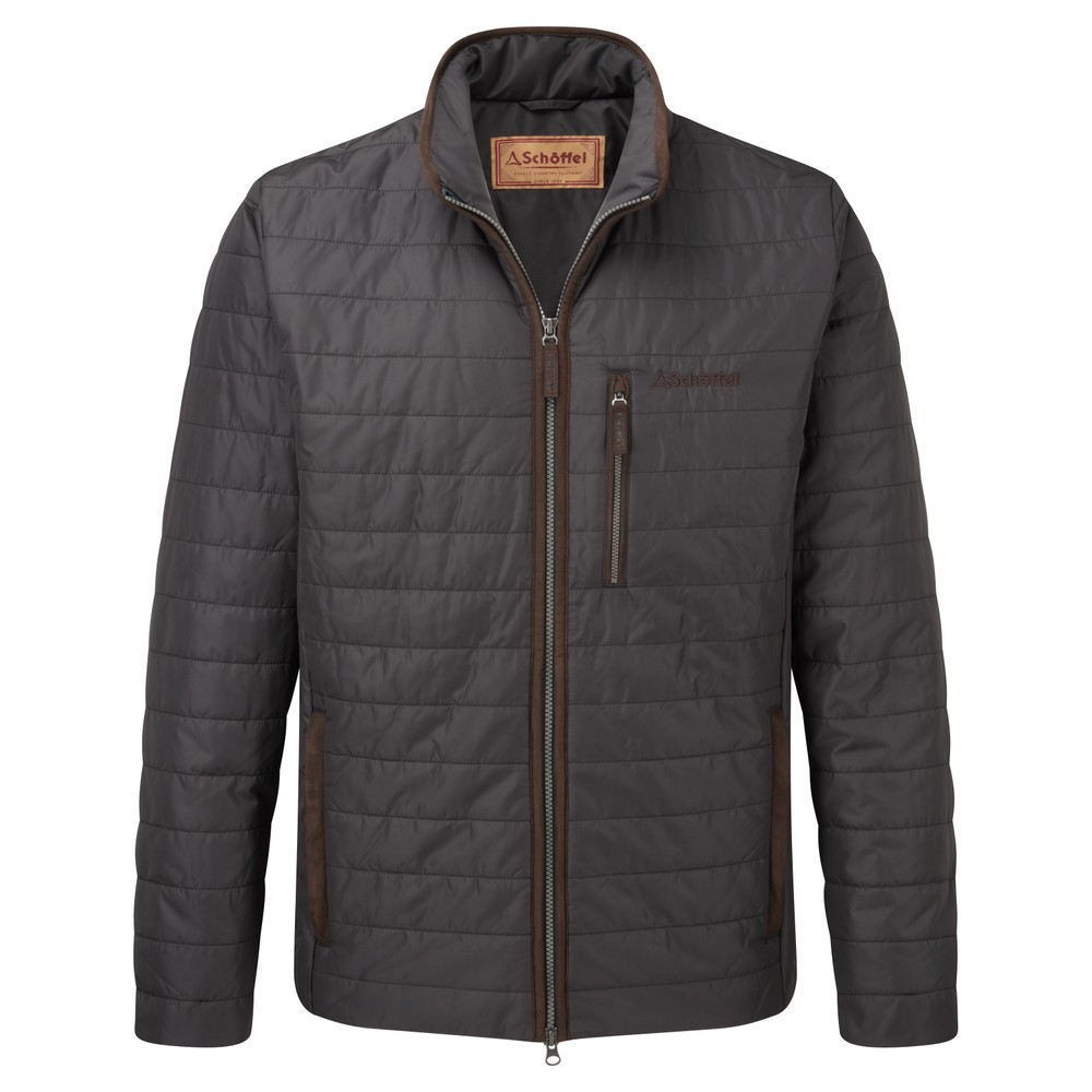 Carron Jacket Charcoal
