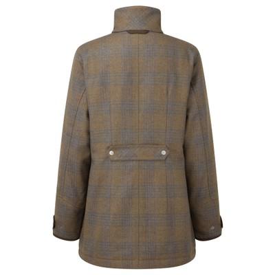 Ladies Ptarmigan Tweed Coat Iona Tweed