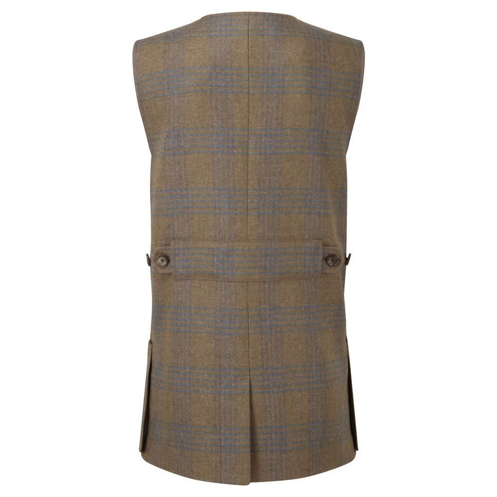 Ladies Tweed Shooting Vest Iona Tweed