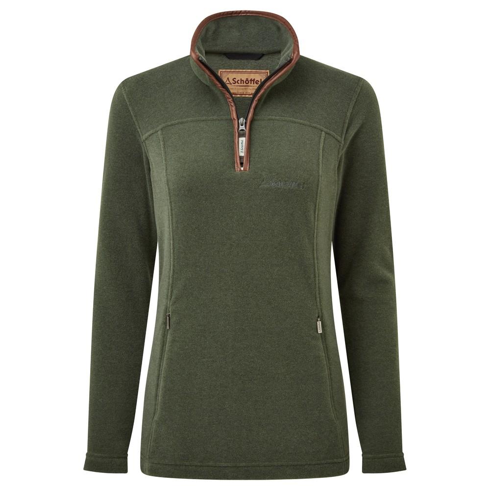 Tilton 1/4 Zip Fleece Cedar Green