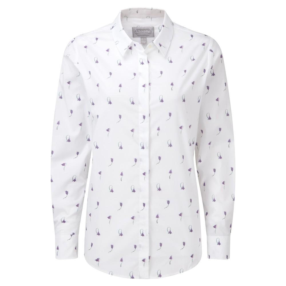 Sunningdale Shirt Harebell Print