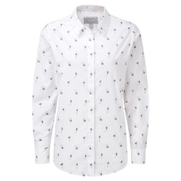 Schoffel Country Sunningdale Shirt in Harebell Print