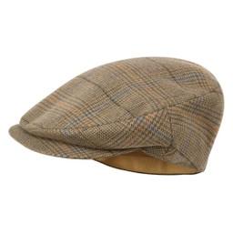 Schoffel Country Countryman Tweed Cap in Arran Tweed