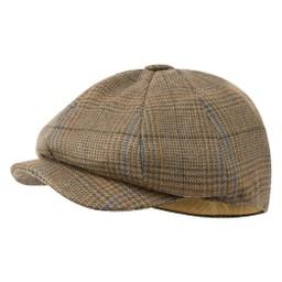 Schoffel Country Newsboy Cap in Arran Tweed