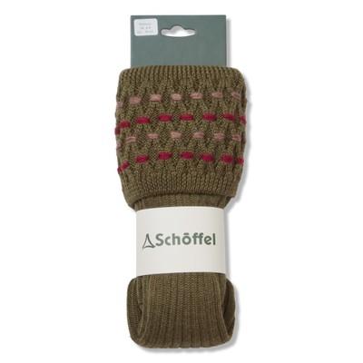 Ladies Stitch Sock II Moss