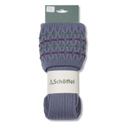 Schoffel Country Stitch Sock II in Harebell