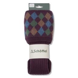 Schoffel Country Ladies Ptarmigan Sock in Purple