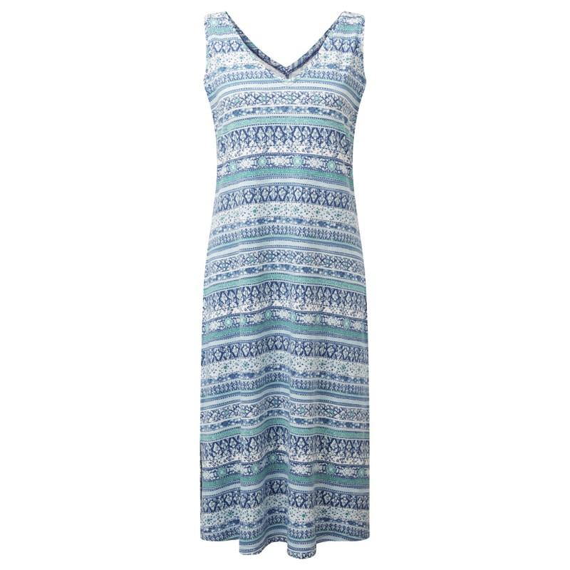 Halblanges Padma-Kleid - Neelo Blue