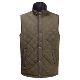 Schoffel Country Barrowden Quilt Gilet in Olive