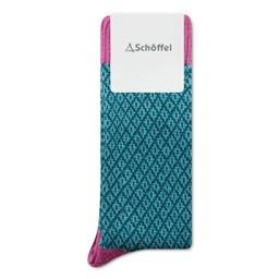 Schoffel Country Braemar Sock in Pink