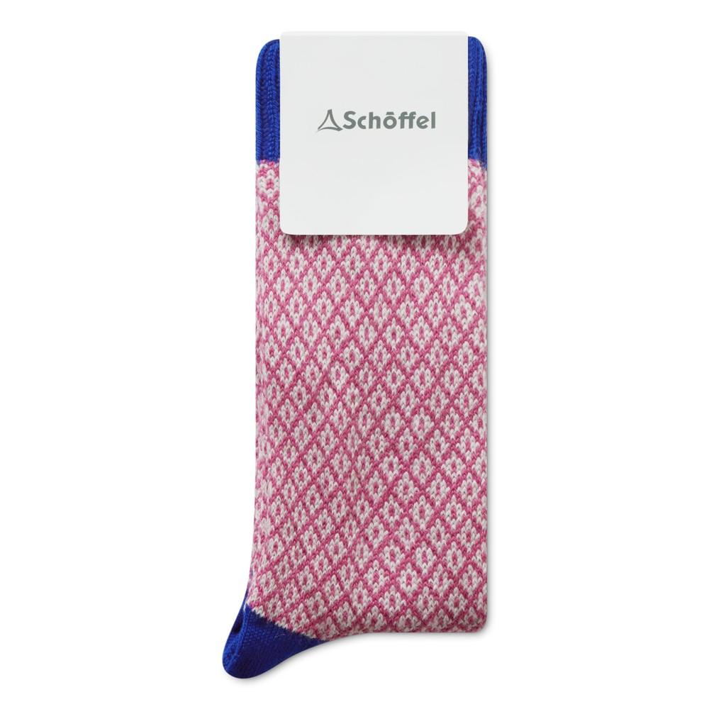 Braemar Sock Cobalt Blue