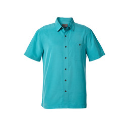 Royal Robbins Mojave Pucker Dry S/S Shirt in Viridian Green