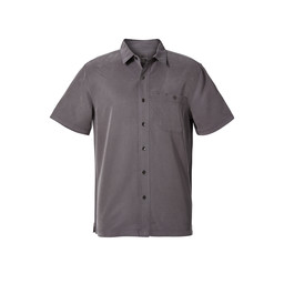 Royal Robbins Mojave Pucker Dry S/S Shirt in Asphalt