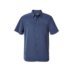 Royal Robbins Mojave Pucker Dry S/S Shirt in Collins Blue