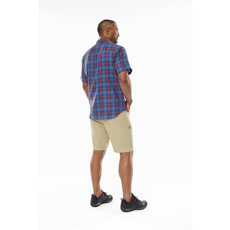 Merinolux Plaid S/S Shirt