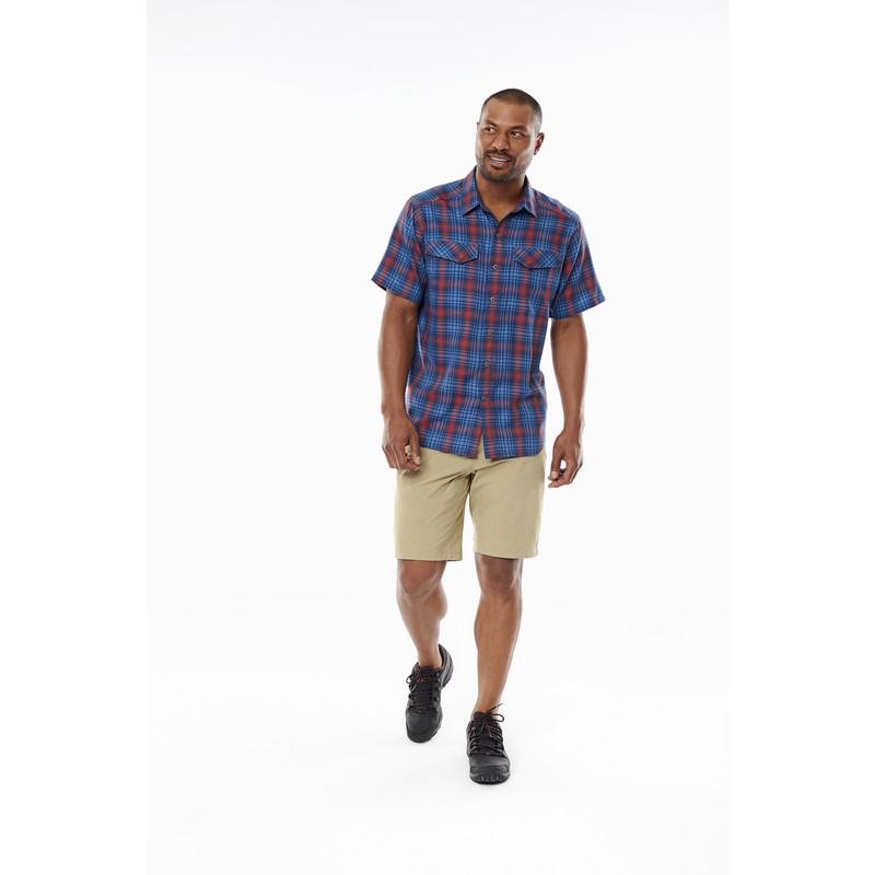 Merinolux Plaid S/S Shirt