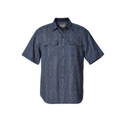 Royal Robbins Cool Mesh S/S Shirt in Eclipse Print