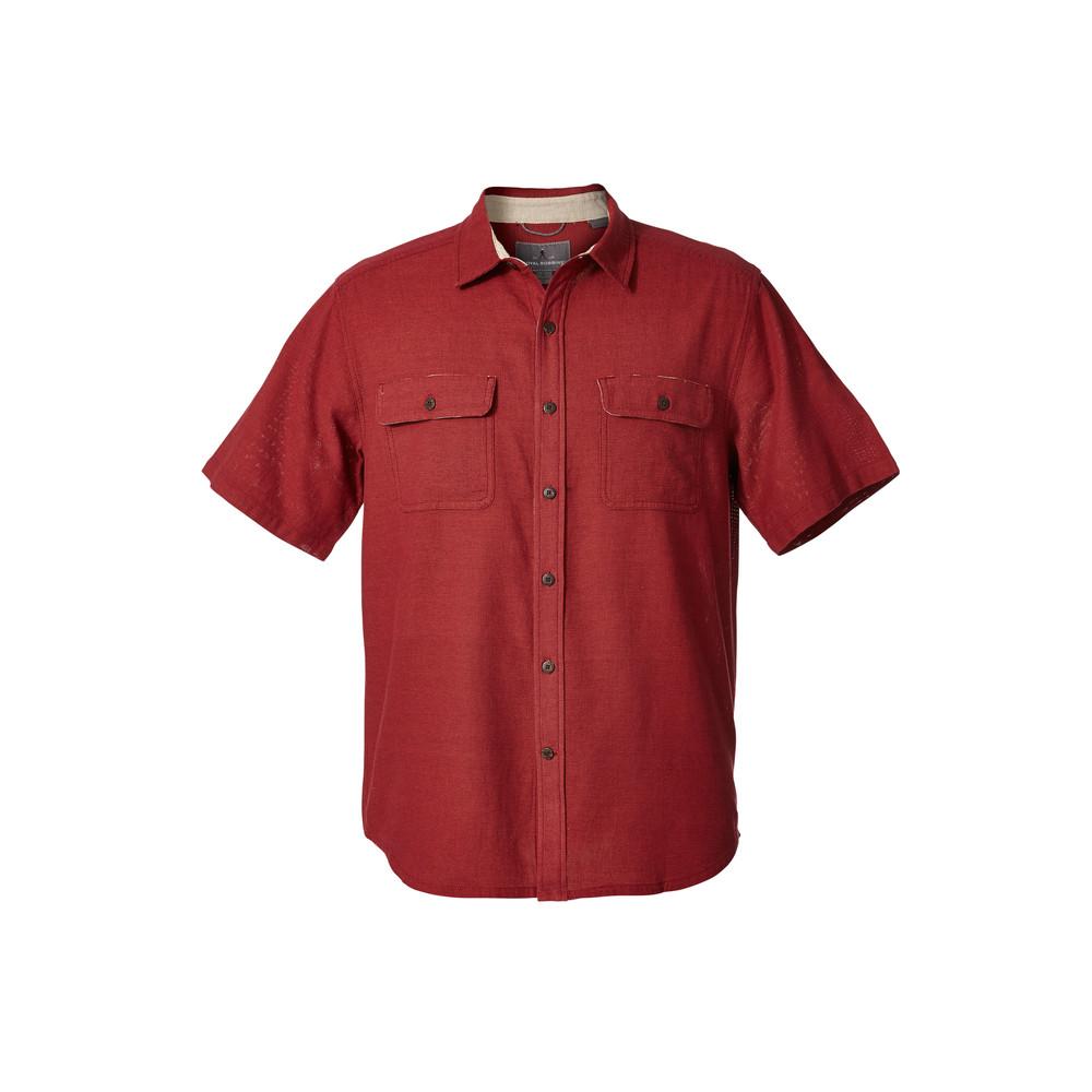 Cool Mesh S/S Shirt Sumac/Syrah