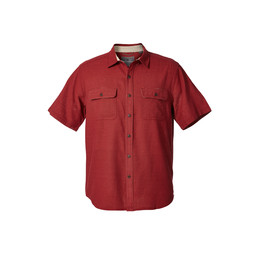 Royal Robbins Cool Mesh S/S Shirt in Sumac/Syrah