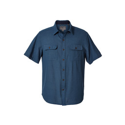 Royal Robbins Cool Mesh S/S Shirt in Blue Stone