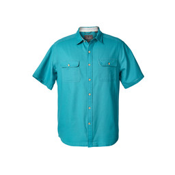 Royal Robbins Cool Mesh S/S Shirt in Viridian Green