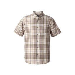 Royal Robbins Mid-Coast Seersucker Plaid L/S Shirt in Falcon