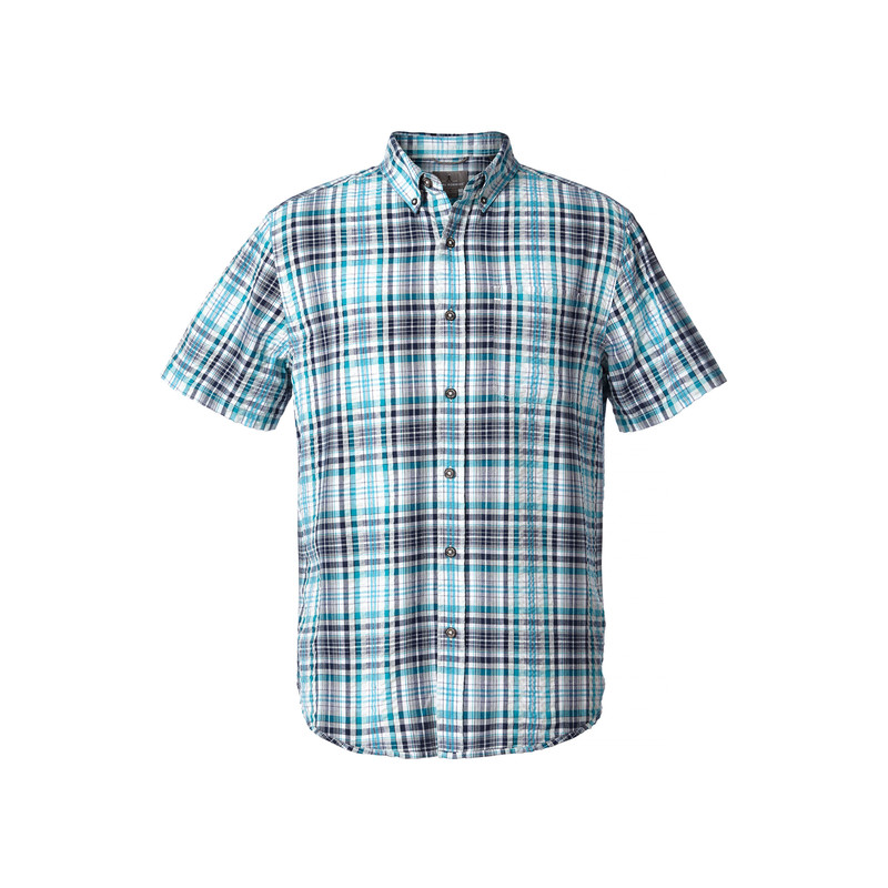 Mid-Coast Seersucker Plaid L/S Shirt