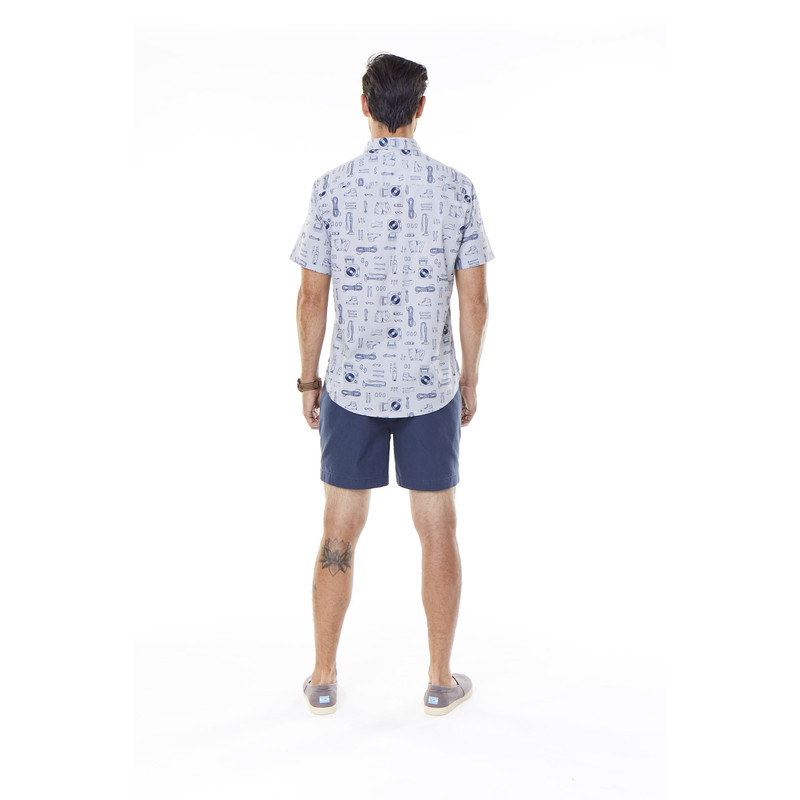 Base Camp Print S/S Shirt