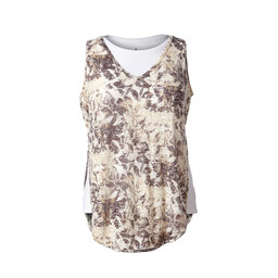 Royal Robbins Burnout Double Tank in Falcon Print