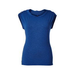 Royal Robbins Noe Twist S/S Top in Abyss