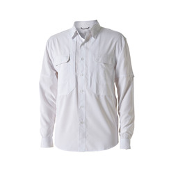 Royal Robbins Bug Barrier Expedition L/S Shirt in White