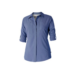 Royal Robbins Expedition Chill L/S Shirt in Blue Indigo