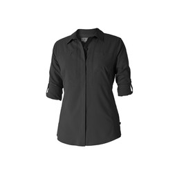 Royal Robbins Bug Barrier Expedition L/S Shirt in Jet Black