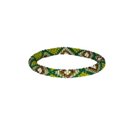 Multi Roll on Bracelet Gokarna Green