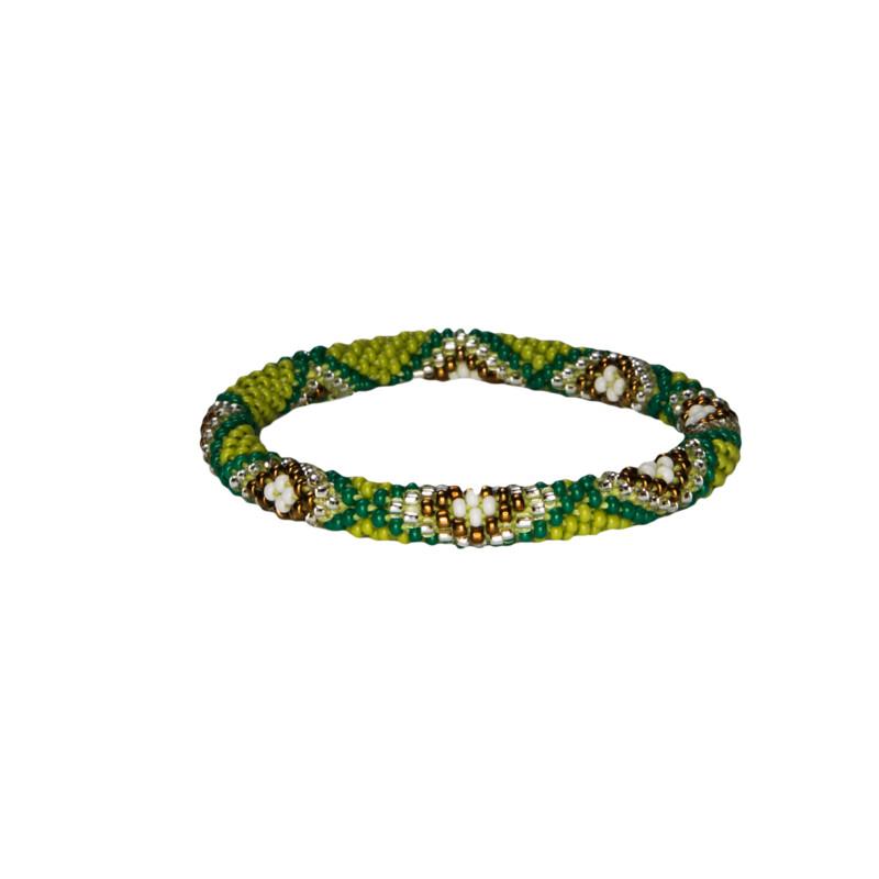 Multi Roll on Bracelet - Gokarna Green