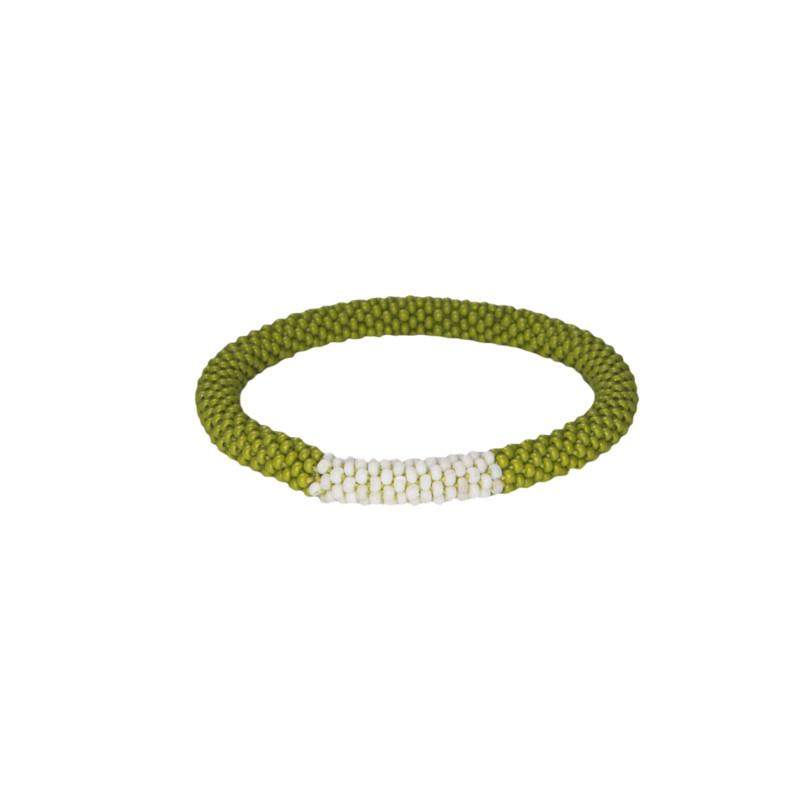 Mayalu Block Roll on Bracelet - Gokarna Green