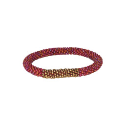 Mayalu Block Roll on Bracelet Anaar
