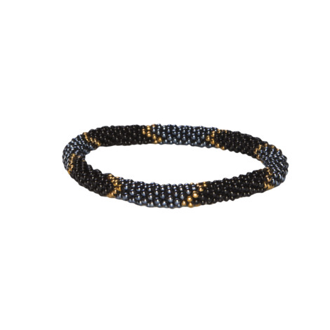 Sherpa Adventure Gear Mayalu Ikat Roll on Bracelet in Kharani