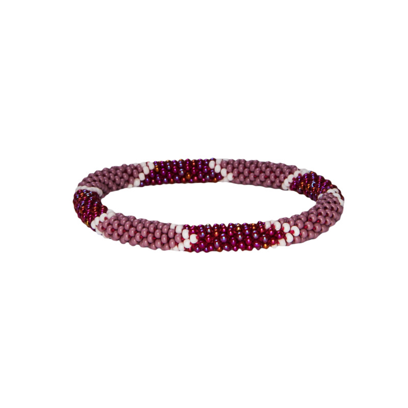 Mayalu Ikat Roll on Bracelet - Anaar