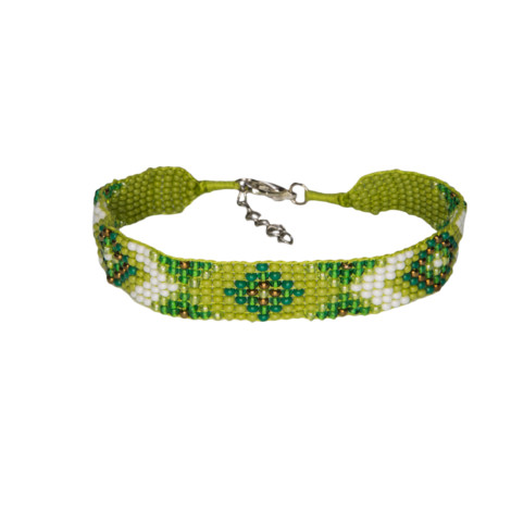 Sherpa Adventure Gear Mayalu Bhutan Bracelet in Gokarna Green