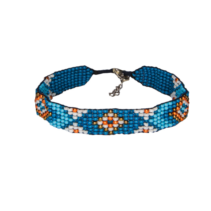 Mayalu Bhutan Bracelet - Blue Tara