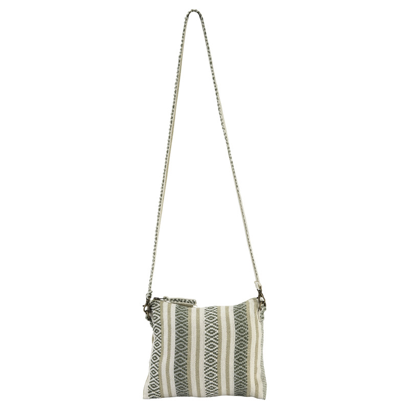 Jhola Cross Body Bag - Koshi Green
